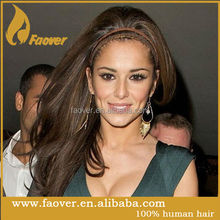 Top quality Chinese remy straight fully hand braided lace front wig