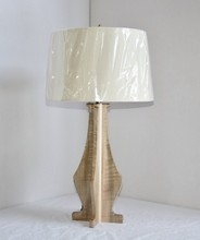 0517-29 wooden banker table lamp led restaurant dressing
