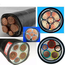 Copper conductor XLPE insulated PVC power cable manufacturers underground Power Cable