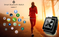 """Fashion and cheap Iradish i7 1.54"""" Smart Watch Phone Mate Bluetooth-Armbanduhr for Samsung S5 S4 iPhone 5 HTC(Silver/Black)"""