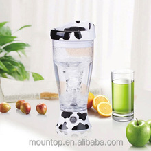 Travel products 2015 automatic shaker, blender cup wide mouth, portable battery mixer shaker