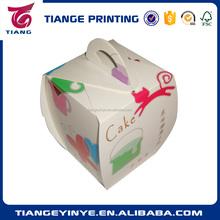 custom recycled mini paper cupcake box