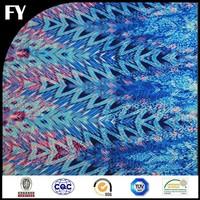 digital printed 100 pure silk georgette fabric with magic pattern