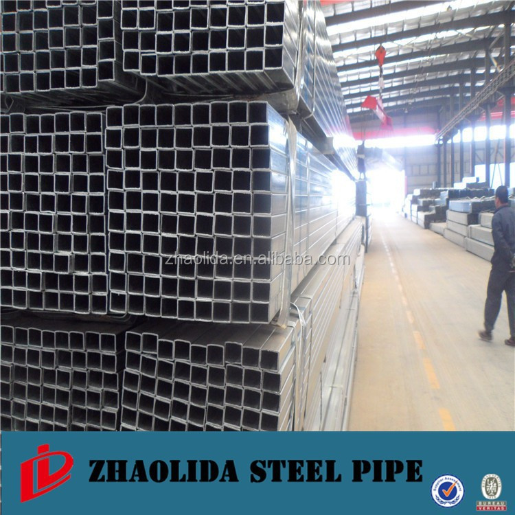 Gi square section steel pipe for scaffolding used buy