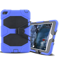 Army Military Heavy Duty Shockproof Silicon Case For iPad Mini 4