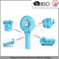 Wholesale High Speed Usb Battery Operated Electrical Rechargeable Mini Portable Fan for Travel
