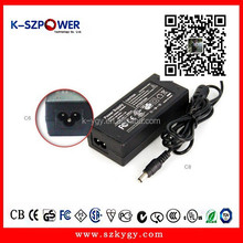 2015 YGY Power supply & ac to dc power 12v 5a power adapter for led stripes with CE UL GS CB KC CCC ROHS and 2 years warranty