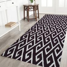 3D soft stripe shaggy floor rugs
