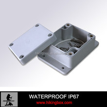 Small waterproof ABS material plastic electrical enclosure wall mounting box HPE032