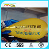 CILE 2015 Newest Customized Inflatable Flying yellow blimp model (Advertising,Promotions,Simulator,Event)