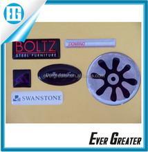Custom make epoxy resin sticker 3D GEL DOMED DECALS Dome Stickers custom flag 3D Stickers Resin Domed