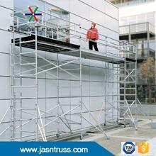 Jasntruss aluminum double scaffold frame with drige scaffolding