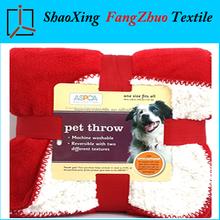 2-ly pet throw blanket warm sherpa fleece blanket