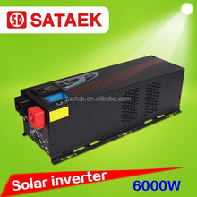 DC to AC power hybrid solar panels and convenient household power inverter