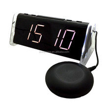 Big LED display Alarm Clock with Bed Shaker
