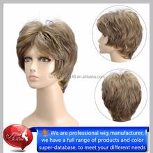 100% japanese kanekalon non shiny synthetic hair short cut for women, dr miracle hair