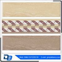 OEM glazed metallic dirt resistant toilet wall tiles designs