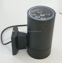 High quality cheap factory price outdoor 9w led wall light black/silver one direction made in China