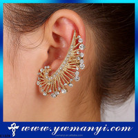 China Factory Direct Sale ear cuff warp clip earring with Standards Hight Quality