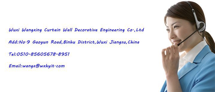Double skin energy saving Curtain Wall