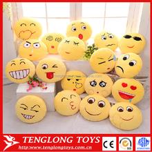 custom plush emoji pillow