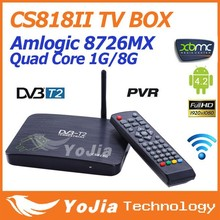 Android TV Box RK3288 Quad core 1G Ram 8G Rom Android 4.4 XBMC 4K CS918II