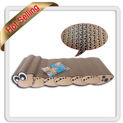 high quality and low price cat toy /cat scratchers /cat cardboard