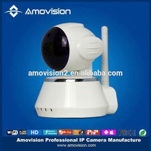 Wireless Wired Pan Tilt 120 Dual Audio Alarm Ip camera 12Meter Night vision 67Viewing Angle Easy install(QF510)