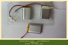 Rechargeable 3.7v li-polymer 355585 1600mah battery for CCTV cameras