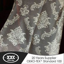Elegant style fabric custom sheer curtains and drapes