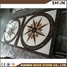 china factory supply marble mosaic medallion tile , pattern marble mosaic in medallion for sale