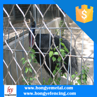 High Quality Vinyl Coated Chain Link Fence ( Factory )