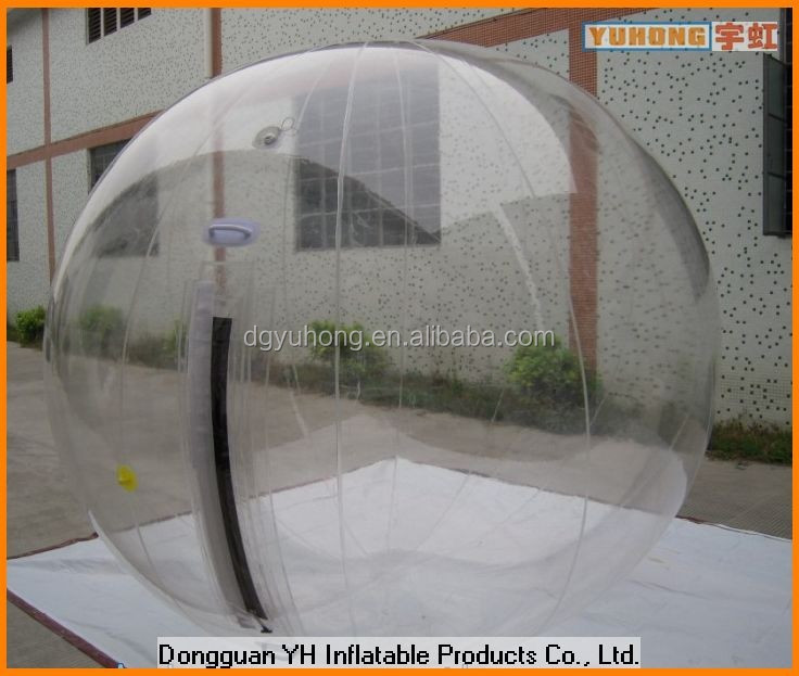 hot sale roll inside inflatable ball, inflatable water zorb ball