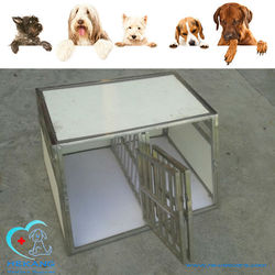 veterinary clinic high quality stainless steel dog cages