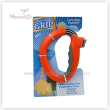 Saco de compras cabo de plástico uma viagem Grips para compras na mercearia saco titular punho dobrável saco dobrável portador de bloqueio