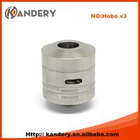 Hot selling hobo v3 rda high quality ss/black hobo rda v3 wholesale hobo v3 with fast delivery