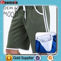 2014 Mens Harem Capri Sport Athletic Baggy Gym Jogger Joggin Shorts Blends Shorts With Side Pocket SW1010-ZK
