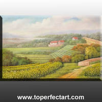 beautiful landscape canvas oil painting with low price in stock