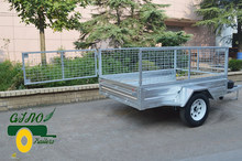 Galvanizing Bolted Single axle trailer 6x4ft
