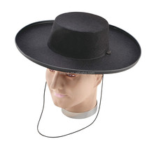 wholesale 100% wool foam cowboy hats with leather and rhinestone promotional cowboy hat HT5154