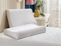 New Wholesale special discount neck rest all natural latex pillow