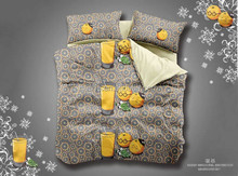 wholesale cantoon design 3D bedding set/ 3D bedding set for boy