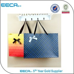 Pretty colored paper bags/plain paper bags/paper crafts magazine in China