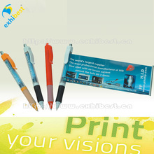 christmas promotion scrolling banner pen