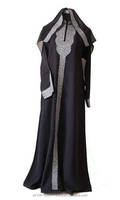 Arabic ladies gown/Muslim plus size nightgown/New abaya 2014 -Latest fashion 2014 dubai muslim Women kaftan abaya