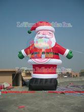 Hot sale Inflatable Christmas Santa Claus