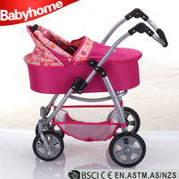 Infant products hot sell adjustable handle baby doll stroller baby doll stroller