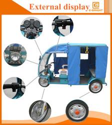 60V 800W single head light auto rickshaw battery auto tuk tuk