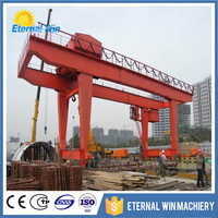 Mobile rail gantry 100 ton crane for sale