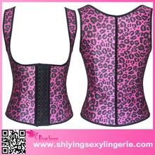Rosy Leopard Women waist corsetsr out lingerie photos www sexy girl com
